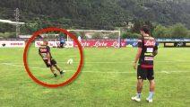 """""""Lorenzo, ci riesci?"""": Ancelotti sfida Insigne a colpire la traversa"""