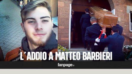 A Roma i funerali di Matteo Barbieri, il corpo ritrovato nove giorni dopo la scomparsa