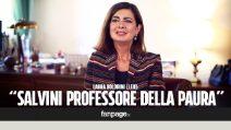 """Laura Boldrini: """"Salvini è il professore della paura, non sa come affrontare i problemi veri degli italiani"""""""