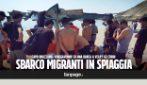 Calabria, dalla barca a vela sbarcano 65 migranti: soccorsi in spiaggia