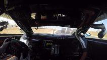 Rubens Barrichello e l'emozionante giro sul Rally con urlo finale