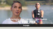 """Alessia Refolo, campionessa non vedente di sci nautico e arrampicata: """"Se vuoi, puoi"""""""