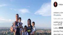 Juventus, la famiglia CR7 spopola sui social