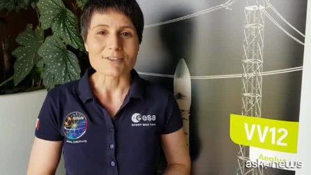 """L'emozione di AstroSamantha per il lancio del satellite Aeolus: """"sfida tecnologica innovativa"""""""