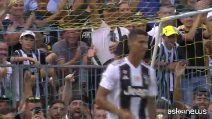 Debutto di Ronaldo alla Juventus, il primo gol di CR7
