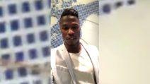 Il primo messaggio di Keita Balde ai tifosi dell'Inter