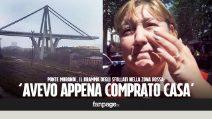"""Crollo Genova, le lacrime di chi è rimasto senza casa: """"L'avevo appena comprata con i risparmi di una vita"""""""