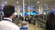Aeroporto di Capodichino, minuto di silenzio per le vittime di Genova