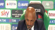 """Inter, Spalletti: """"Il Sassuolo ha vinto meritatamente"""""""