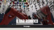 Il Makr Shakr del Robo.To a Torino è il primo bar robotico al mondo