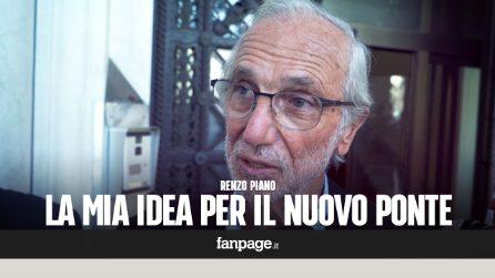 """Renzo Piano: """"Son nato qui, voglio donare a Genova il progetto per la costruzione del nuovo ponte"""""""