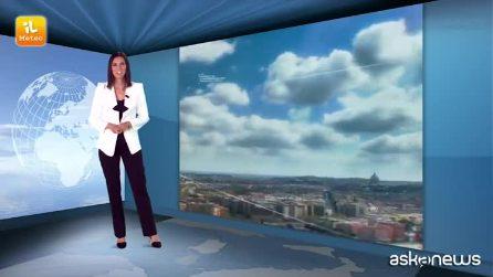 Previsioni meteo per giovedì 30 agosto 2018