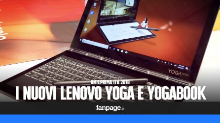 Anteprima Lenovo YogaBook C930, Yoga C930 e Yoga C630, i nuovi convertibili 2-in-1 presentati a IFA 18