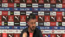 """Gattuso: """"Mi sembrava di vedere il film della partita col Napoli"""""""