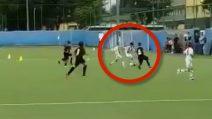 Cristiano Ronaldo non segna ancora, il figlio sì: il grandissimo gol del bambino