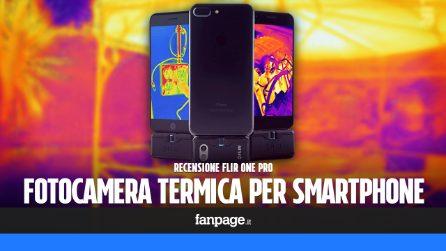 Recensione Flir ONE Pro, il (costoso) gadget che trasforma lo smartphone in una termocamera