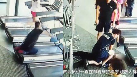 Uomo ha un attacco di cuore mentre corre sul tapis roulant: gli attimi di paura