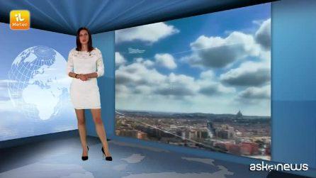 Previsioni meteo per lunedì 10 settembre 2018