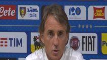 """Nations League, Mancini: """"Contento per il secondo tempo"""""""