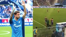 Marchisio debutta con lo Zenit: l'ovazione dei tifosi al suo ingresso in campo