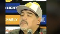 Maradona offende i suoi nuovi tifosi: la risposta in conferenza non piace a nessuno