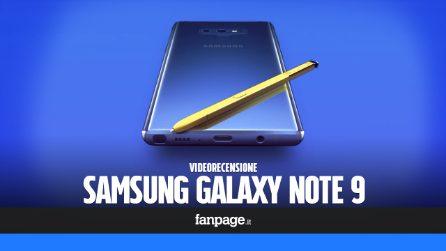 """Recensione Samsung Galaxy Note 9: """"di più"""" in tutto, anche nel prezzo"""