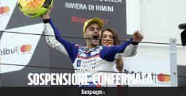 Romano Fenati, la Federmoto conferma la sospensione