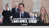"""Sergio Marchionne, il ricordo di John Elkann alla messa: """"Mi hai insegnato a non aver paura"""""""