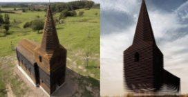 """Il villaggio con la chiesa """"fantasma"""" che scompare all'improvviso"""