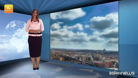 Previsioni meteo per giovedì, 20 settembre 2018