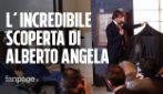 La scoperta di Alberto Angela, trova una bottiglia di olio di oliva di 2000 anni