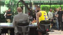 Lebron James all'esordio con i Lakers: voglio migliorare ancora