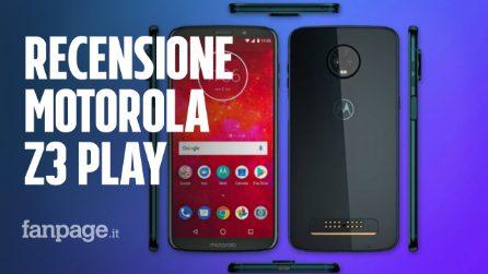 Recensione Motorola Z3 Play, uno smartphone modulare e trasformista