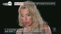 Temptation Island Vip 2018, Simona Ventura svela il motivo delle sue facce davanti al falò