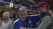 Chelsea-Liverpool, il bellissimo esempio dato da Sarri e Klopp