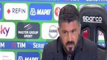 """Gattuso: """"Ci mancano i gol di Calhanoglu, è uno che butta giù le porte"""""""
