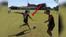 Super gol di Simone Verdi in allenamento: il portiere non può nulla