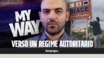 """Riace, Roberto Saviano: """"Il disegno di Salvini si sta compiendo, è passo verso regime autoritario"""""""