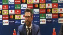 """Roma, Di Francesco: """"Dzeko ha qualità impressionanti, stasera è stato bravissimo"""""""