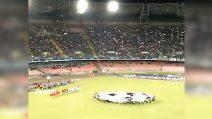 """Napoli - Liverpool: l'urlo """"The champions"""" fa tremare lo stadio San Paolo"""