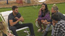 """Grande Fratello Vip 2018, Francesco Monte litiga con Giulia Salemi: """"Non ti parlerò mai più"""""""