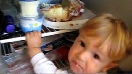 """Mamma e papà lo trovano davanti al frigo: ecco cosa sta """"rubando"""" il bimbo"""