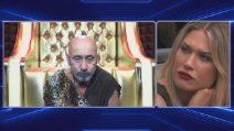 Grande Fratello Vip 2018: Maurizio Battista sente la mancanza della compagna Alessandra Moretti