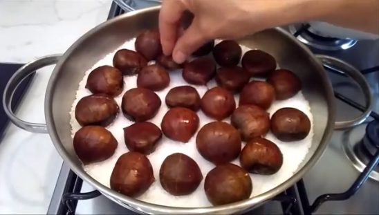 Come Cuocere Le Castagne Con Il Sale Il Metodo Perfetto