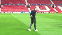 """Cristiano Ronaldo torna """"a casa"""": l'emozione all'Old Trafford"""