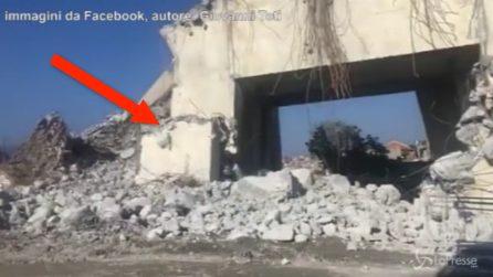 Crollo ponte Morandi Genova, cosa resta del pilone 9 crollato
