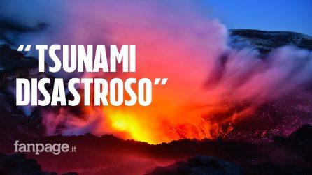 """L'Etna scivola verso il mare, gli esperti: """"Rischio tsunami disastroso per la Sicilia"""""""