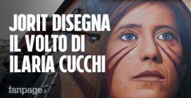 """Jorit disegna a Napoli il volto di Ilaria Cucchi, gli abitanti: """"Proteggeremo l'opera"""""""