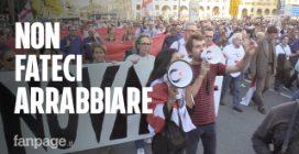 """""""Non fateci arrabbiare"""": corteo di protesta a Genova"""