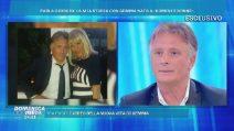 """Domenica Live, Giorgio Manetti: """"Gemma Galgani mi ha sedotto sciogliendosi i capelli"""""""